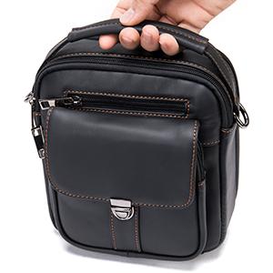 messenger bag leather handle