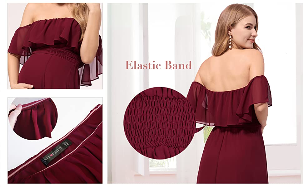 Ever-Pretty Women pregnant party dress maternity special occasion dresses formal evening dresses