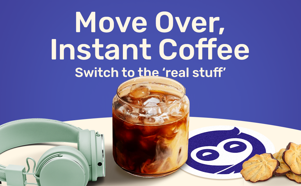 Cold Brew, Real Coffee
