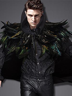 Masquerade shawl for Halloween