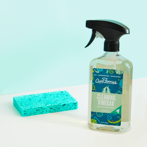 Aunt Fannies Vinegar all purpose kitchen bathroom sink tile cleaning spray effectiveness