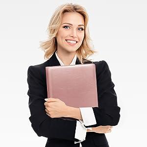 business portfolio folder for men women