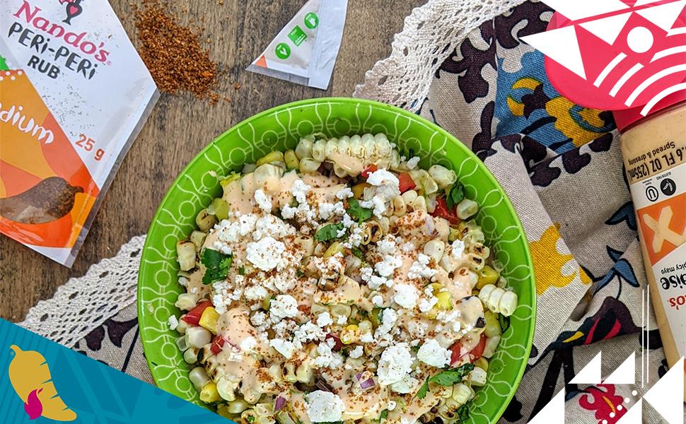 PERi-PERi Streetcorn Salad