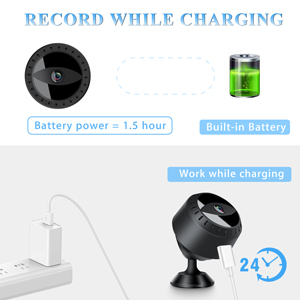 Record While Charging