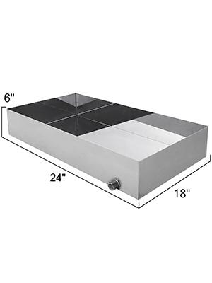syrup evaporator pan