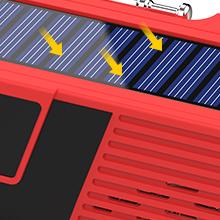 Emergency Solar Hand Crank Radio