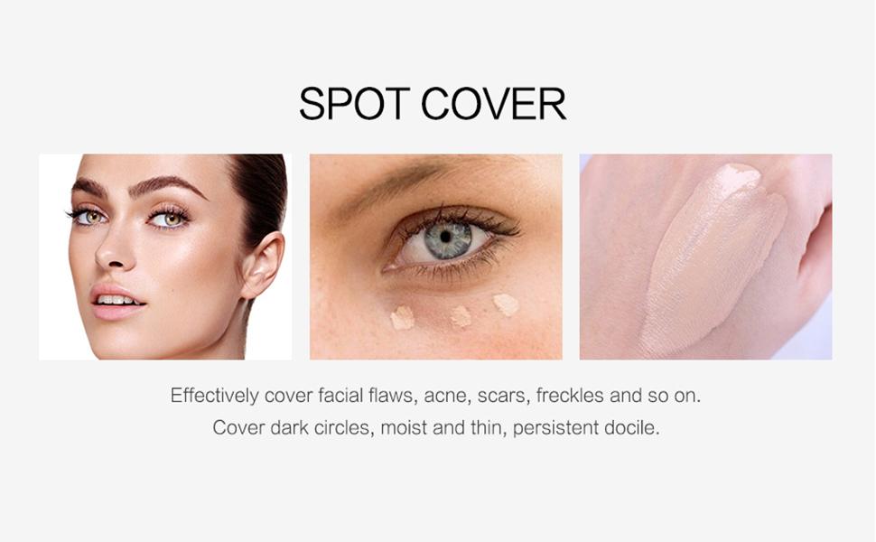 cover dark spots
