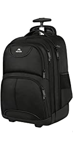 Rolling Backpack for 17 Inch Laptop