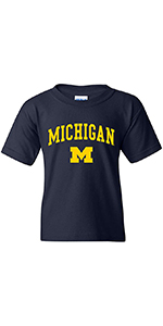 NCAA Arch Logo Youth Short Sleeve T Shirt