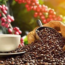 Caffeine miniaturization rejuvenation for skin repair