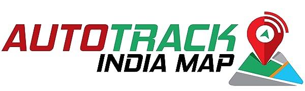 AUTOTRACK INDIA MAP
