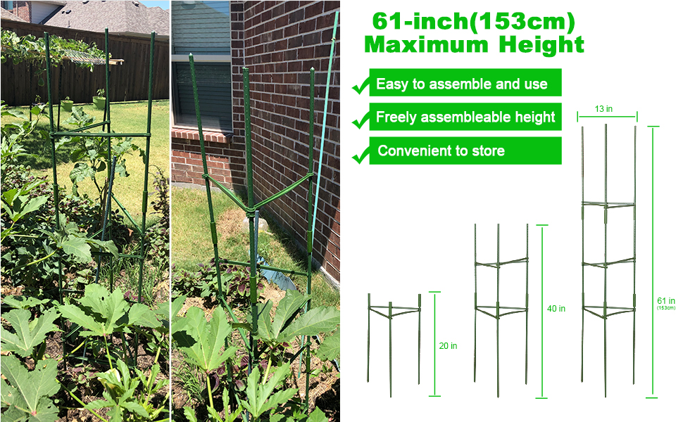 Tomato Cages Plant Supports