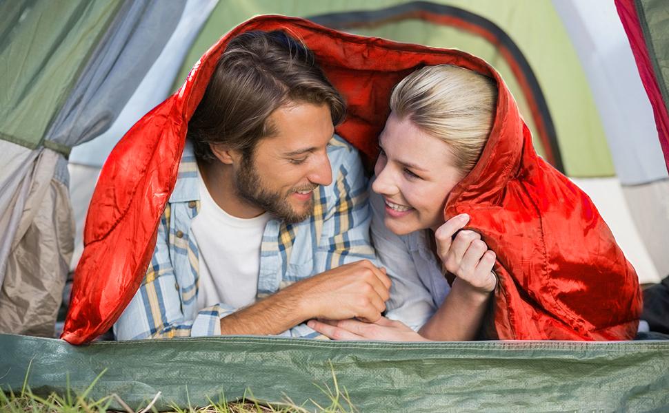 CAMEL CROWN Camping Sleeping Bag