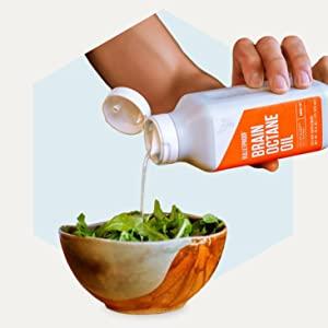 Bulletproof MCT oil brain octane xct C8 bundle gut health wellness zinc