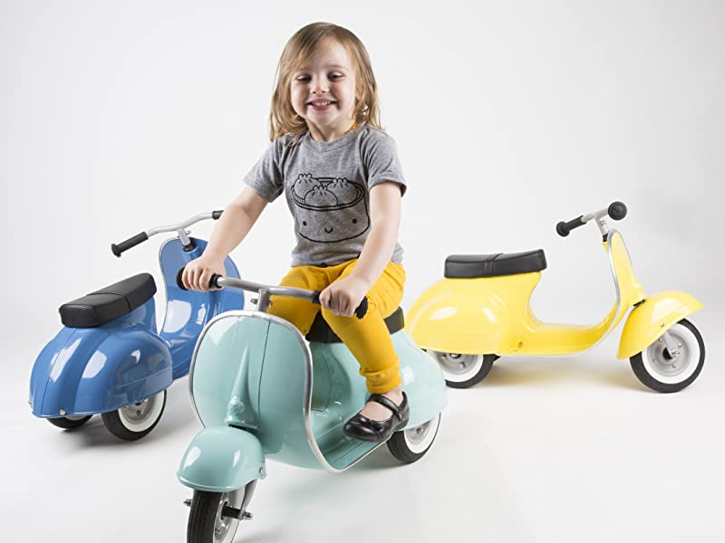 PRIMO ride on toy for toddlers, 1 year old boys and girls, design lovers and collectors