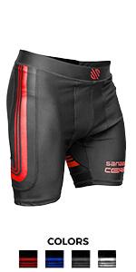 Core compression shorts