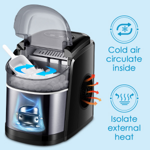 Exhaust Cooling Function Ice Maker