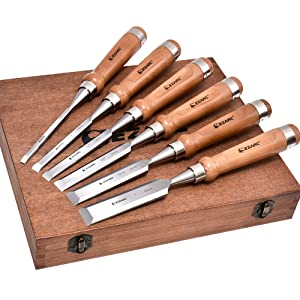 wooden box for wood chisels set offerman chisel set chisel set woodworking butt chisel set