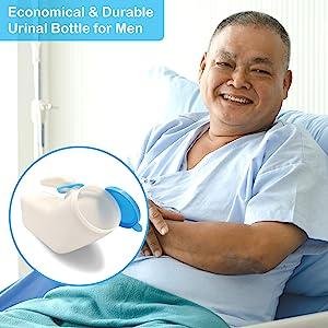 male urine bottle for elderly care incontinence medical care