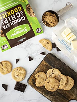 fancy pants baking co fancypants cookies chocolate chip delicious buttery nut free crunch food