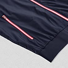 active hiking jackets for men fashionable comfort slim fit varsity coat with zipper pocket