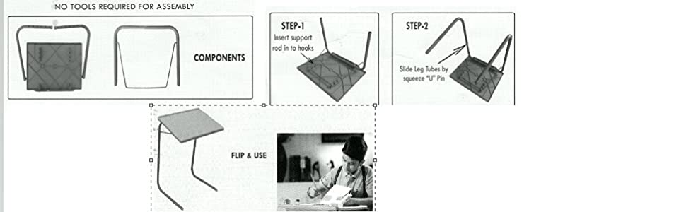 manual for table mate folding laptop food table