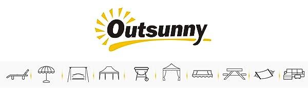 Outsunny Mesa de Picnic Mesa para Camping Plegable con Altura Regulable en 45-65 cm Estructura Estable de Aluminio con Bolsa de Transporte Soporta 30 ...
