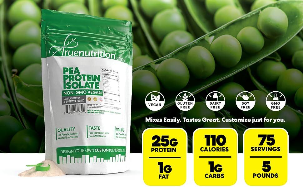 true nutrition truenutrition tru trunutrition nutition pea protein powder plant vegan