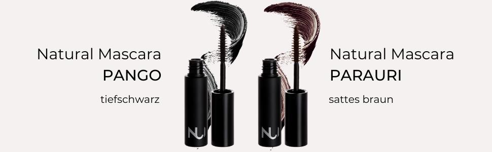 NUI Cosmetics Natural mascara vision