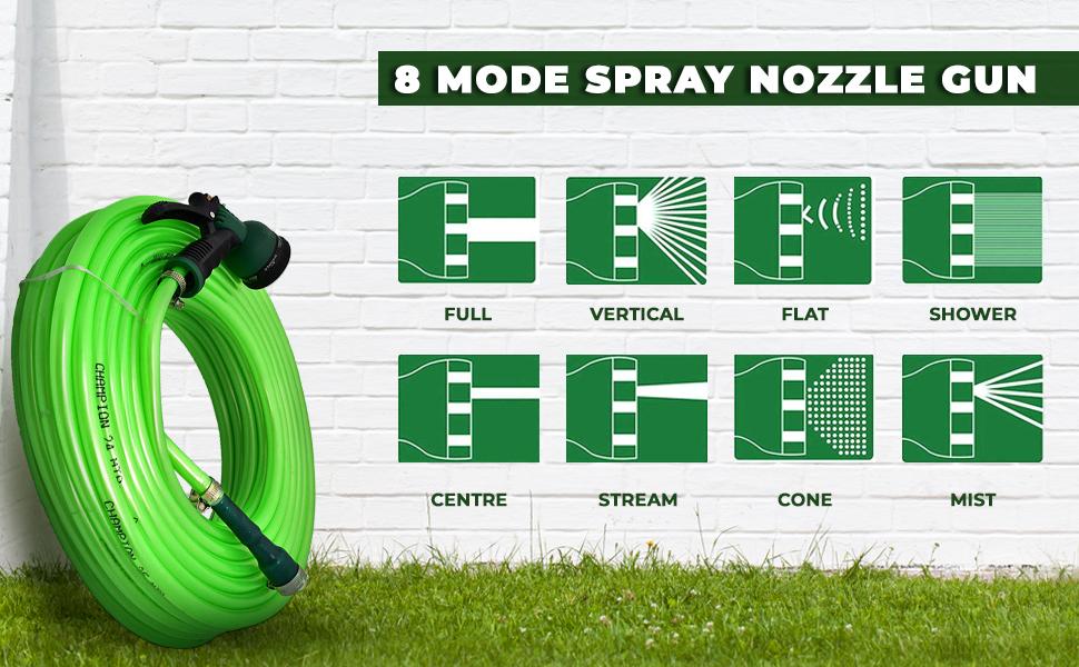 8 Mode Spray Nozzle Gun