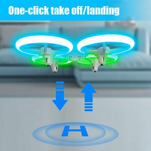drone auto take off