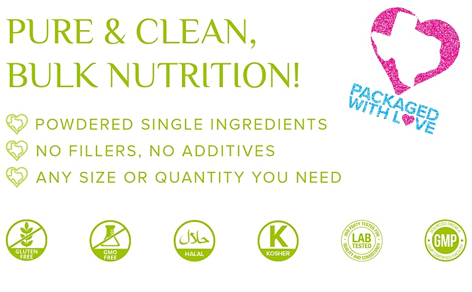 Puer and Clean Bulk nutrition