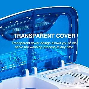 transparent cover