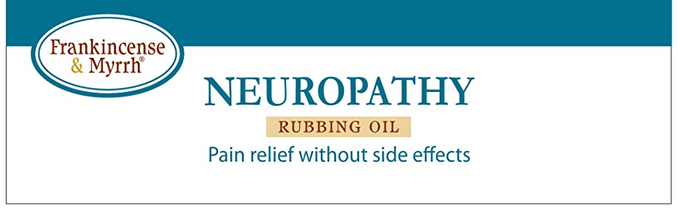neuropathy rubbing oil logo