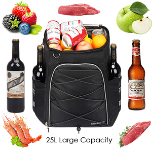 insulated cooler backpack leakproof lightweight cooler bag soft backpack cooler men bag cooler