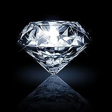 Pendientes de Plata con Diamantes
