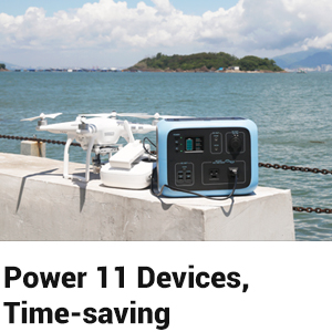 Build-in MPPT 500Wh/300W Power Storage