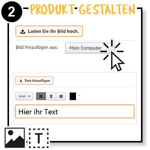 Schritt 2 Produkt gestalten