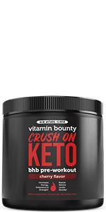 keto, bhb, pre workout