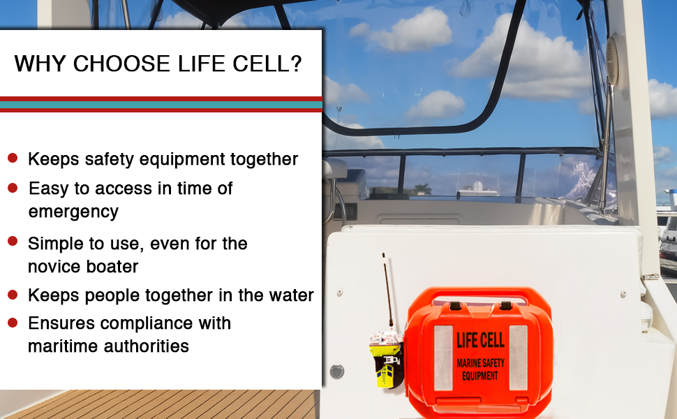 LIFE CELL will keep you afloat