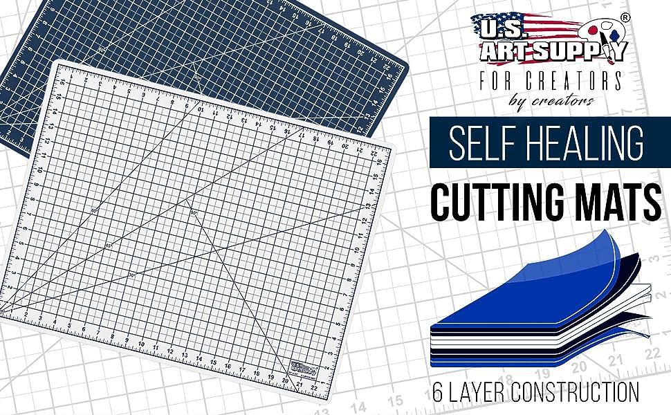 U.S. Art Supply Self Healing Cutting Mats