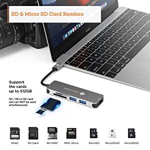 USB SD HUB