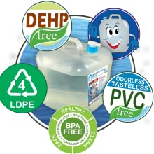 camping water jug bpa free