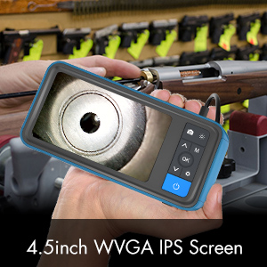 rifle borescope with screen