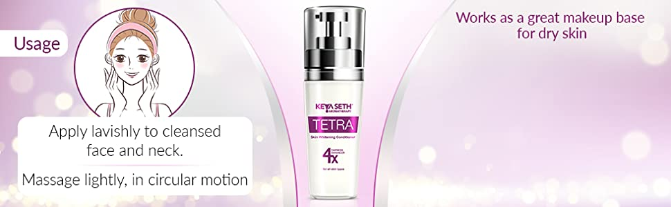 Tetra fairness Conditioner by Keya Seth Aromatherapy