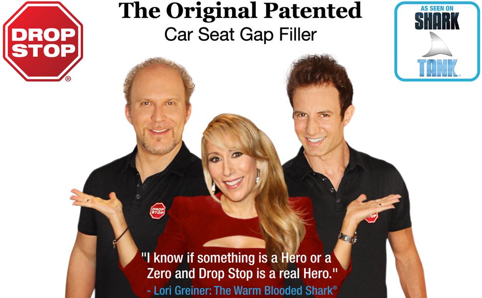 Drop Stop Shark Tank Lori Greiner Car Seat Gap Filler
