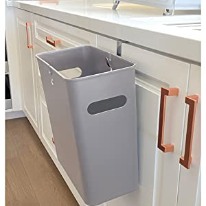 cabinet hang bin trash clean up kitchen meal preparation cooking recycle garbage can dispose