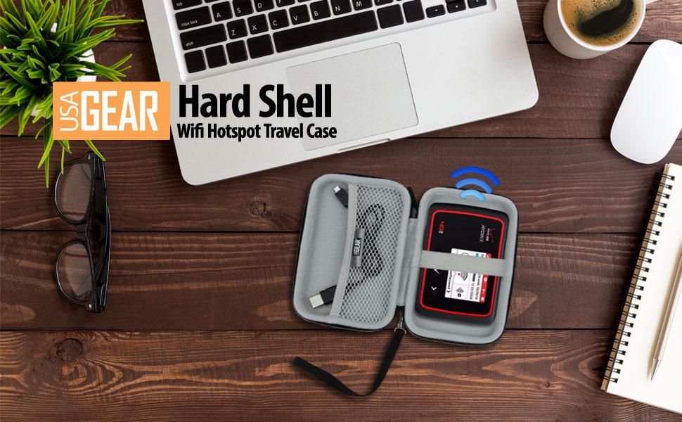 USA GEAR Wifi Hotspot Carrying Case