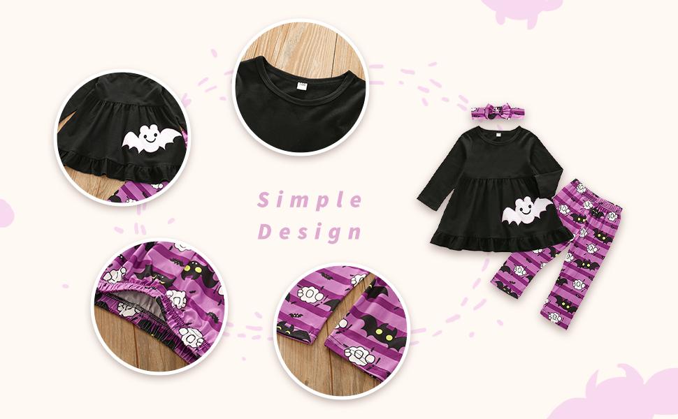 black+purple halloween outfits