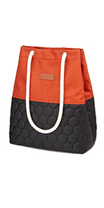 tote bag, shoulder bag, beach, large, canvas, with zipper, with pockets, work, shopping, waterproof